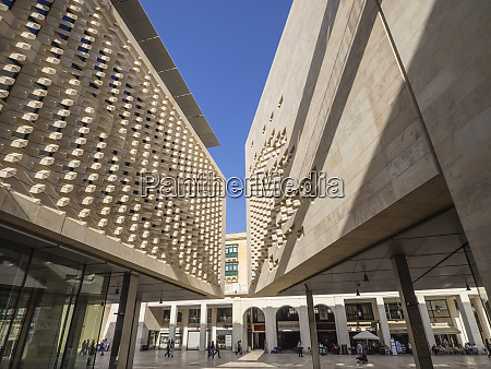the new parliament building designed by