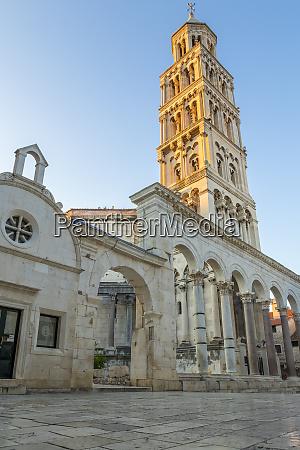 sveti duje cathedral in split at