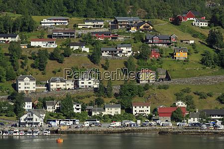geiranger village more og romsdal county