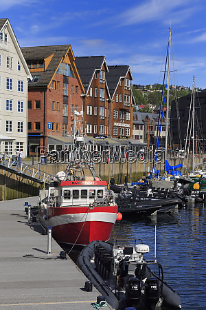 port tromso city tromsoya island troms