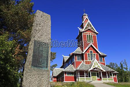 buksnes stave church gravdal village lofoten