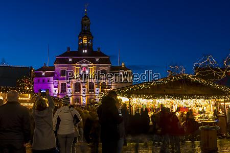 christmas market at the main square