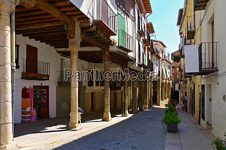 the old medieval town of morella