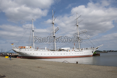 gorch fock german three mast barque