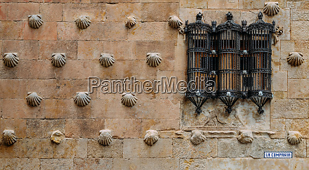 facade to 16th century gothic palace