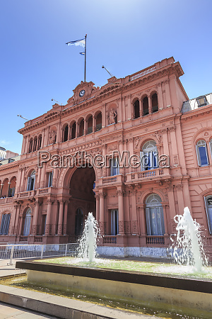 casa rosada pink house presidential palace