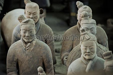 army of terracotta warriors unesco world