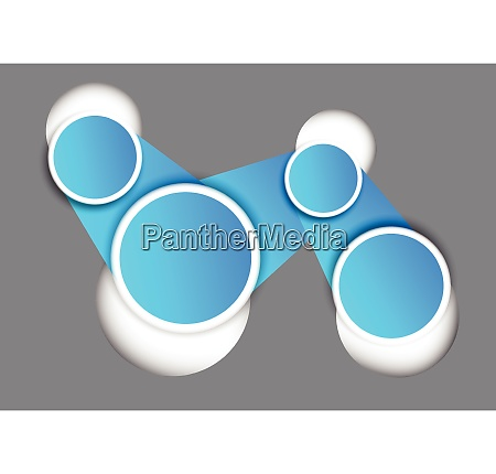 background with blue connected circles