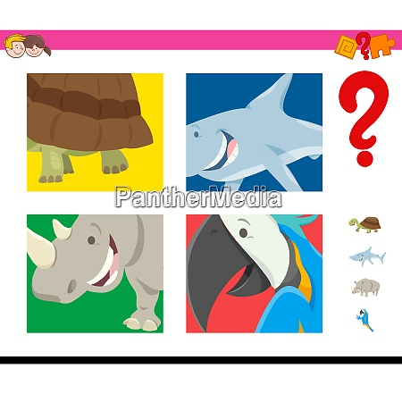 guess wild animals activity for children