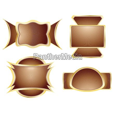 elegance chocolate label
