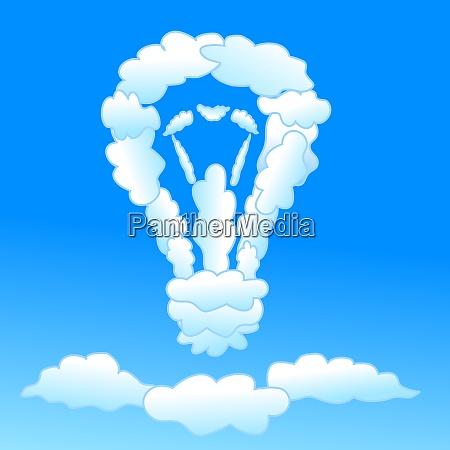 cloudy bulb