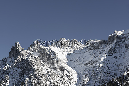 germany bavaria viererspitze and western karwendelspitze