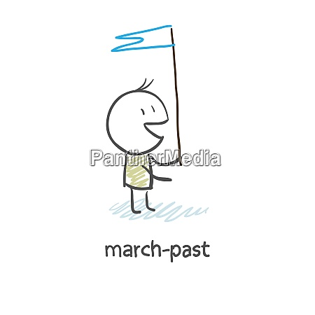 march past