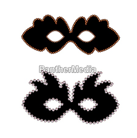 vector carnaval masks