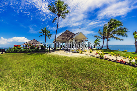 fiji islands denarau island chapel at