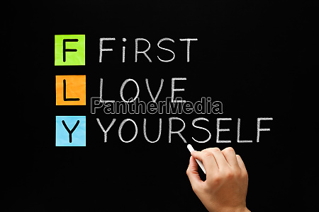fly first love yourself acronym