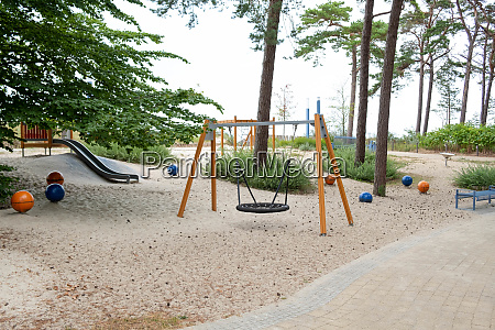 the playground behind the dune in