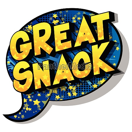 great, snack, -, comic, book, style - 26527400