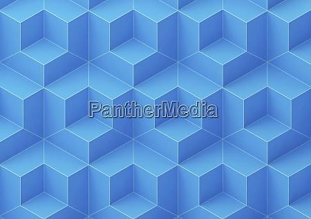 full frame abstract three dimensional geometric