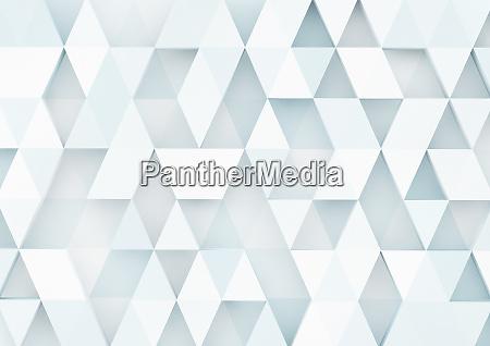 three dimensional triangle pattern