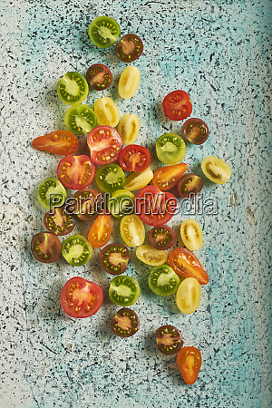 still life of tomatoes