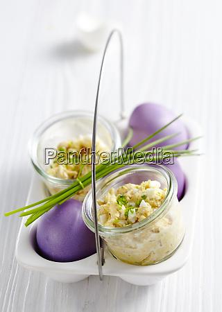 easter egg butter for an easter