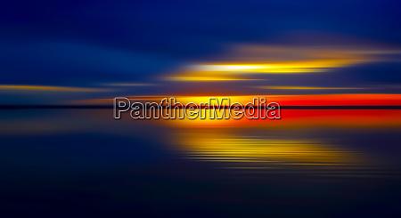 germany bavaria chiemsee lake at sunset