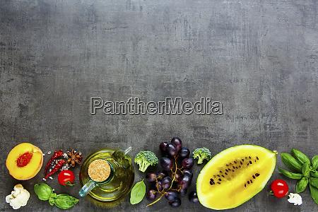 flat lay of various fruits and