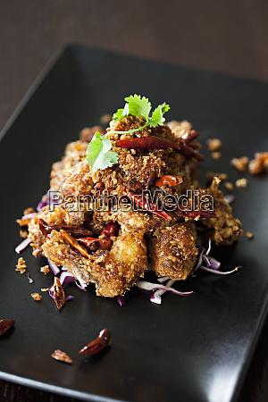 spicy crispy chicken asia