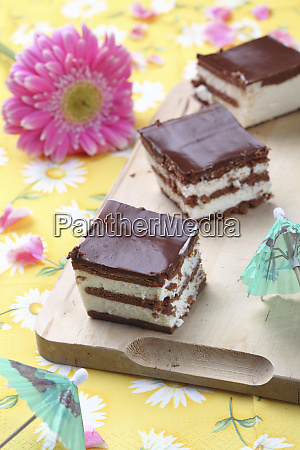 sweet chocolat biscuit cake