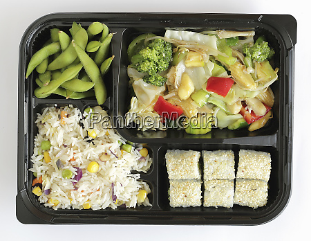 vegan bento menu
