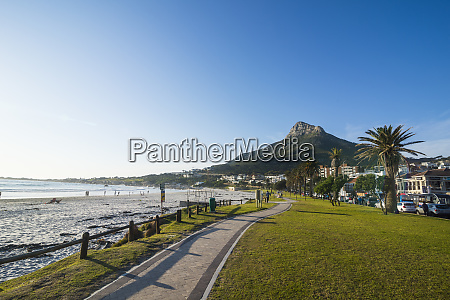 south africa waterfront of camps bay