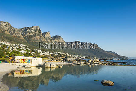 south africa camps bay with the