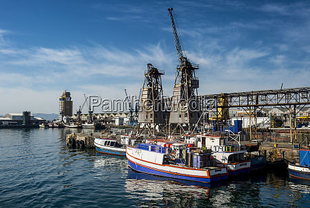 south africa cape town fishing boats