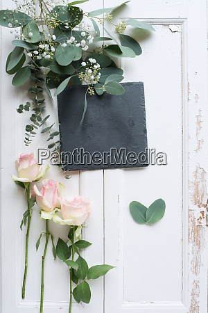 mothers day greetings on vintage wood