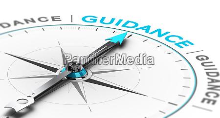 esoteric or spiritual guidance abstract compass