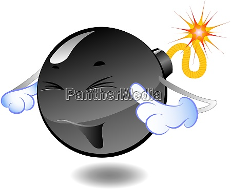 bomb series of cartoon bombs