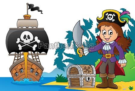 pirate girl theme image 6