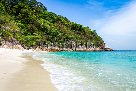 romantic beach perhentian islands terengganu malaysia