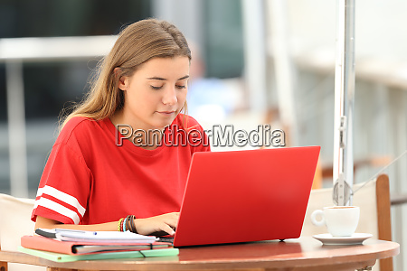 serious student e learning on line