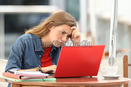 frustrated student trying to understand on