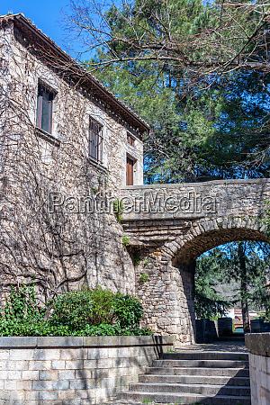 historic building in girona spain