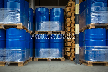 toxic wastechemicals stored in barrels at