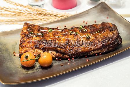 smoke pork rib bbq