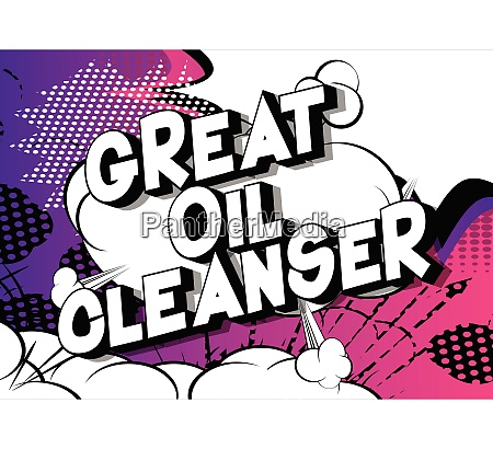 great oil cleanser comic book
