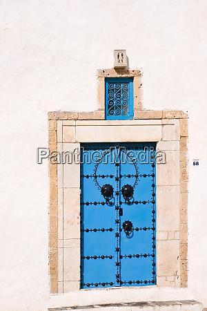 artfully designed front door