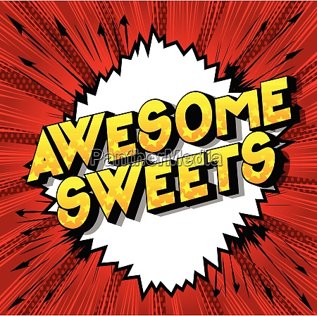 awesome, sweets, -, comic, book, style - 26601207