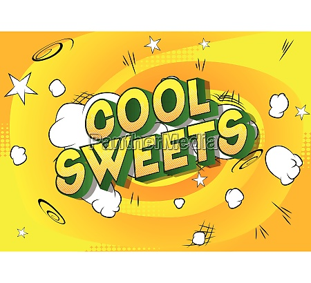 cool, sweets, -, comic, book, style - 26601208
