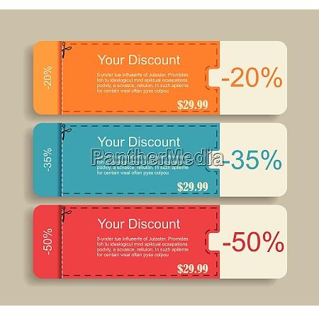 vintage labels template set sale discount