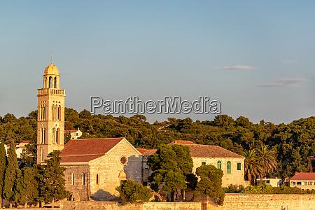cathedral in hvar croatia